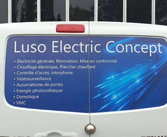 sticker Luso Electric Concept