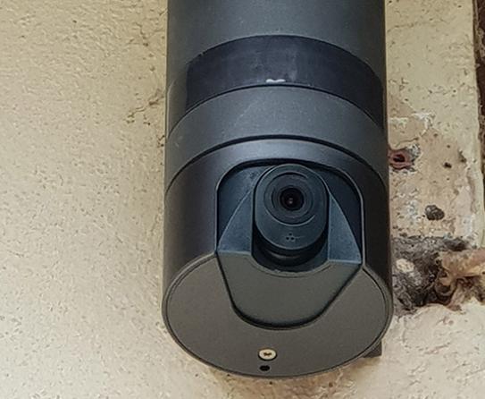 visuel d'un sytème vidéo surveillance
